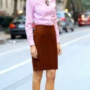 J. Crew No 2 Pencil Skirt Wool Fall Mood Skirt